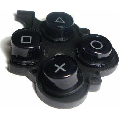 nút bấm xịn psp2k/3k (psp 2k/3k rubber pad button)