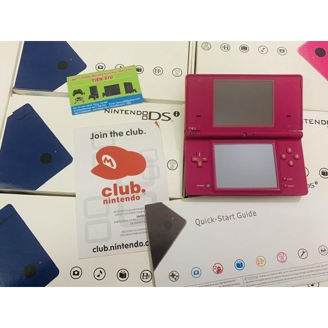 Nintendo dsi remake màu hồng 99% full hộp sạc 220v