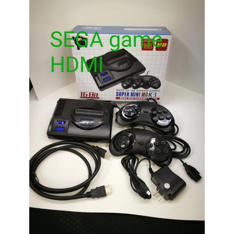 máy 6 nút mini HDMI 168 game tặng 4 tay cầm