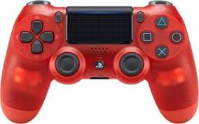Tay cầm DualShock PS4 chính hãng mầu đỏ trong suốt mới 100%