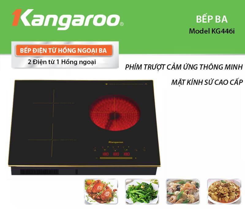 Bếp điện từ hồng ngoại KANGAROO KG446I