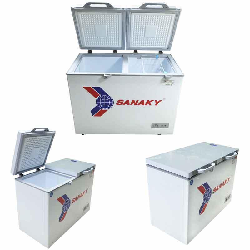 Tủ đông Sanaky VH-2899W2KD Dàn đồng