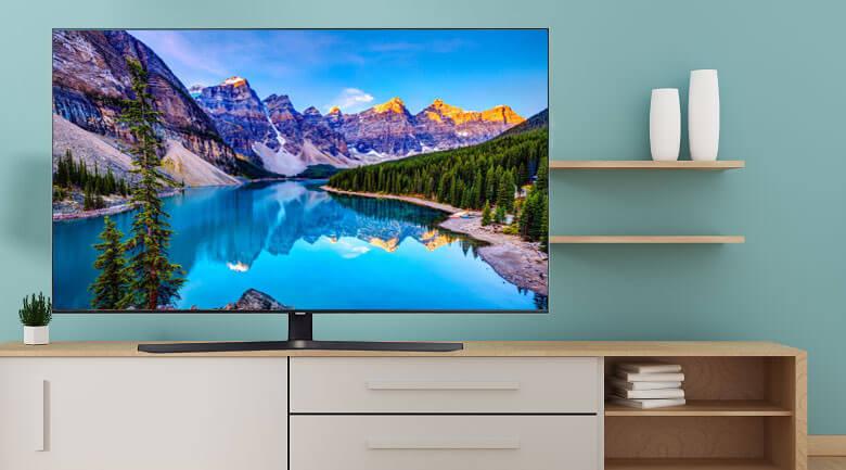 Smart Tivi Samsung 4K 65 inch UA65TU8500 - Thiết kế tinh tế hiện đại