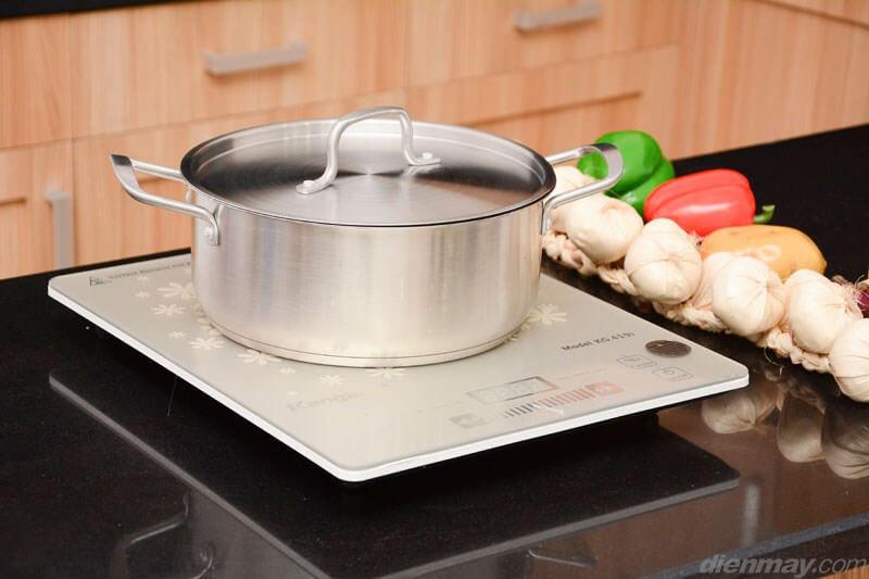 Dùng với nồi chuyên dụng - Bếp từ Kangaroo KG419i