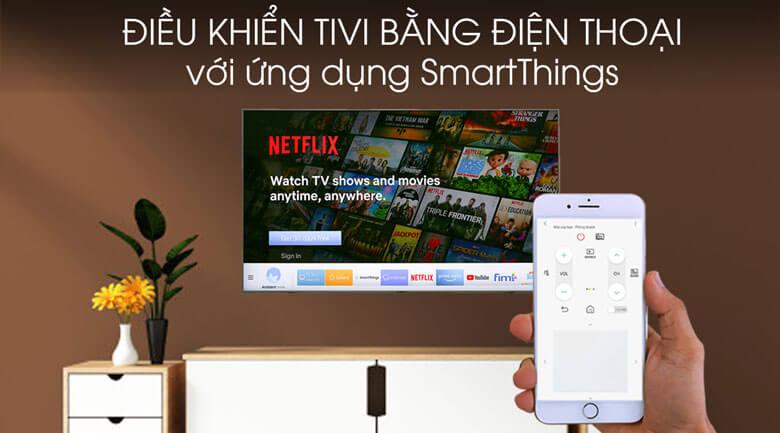 Smart Tivi Samsung 4K 65 inch UA65TU8500 - SmartThings