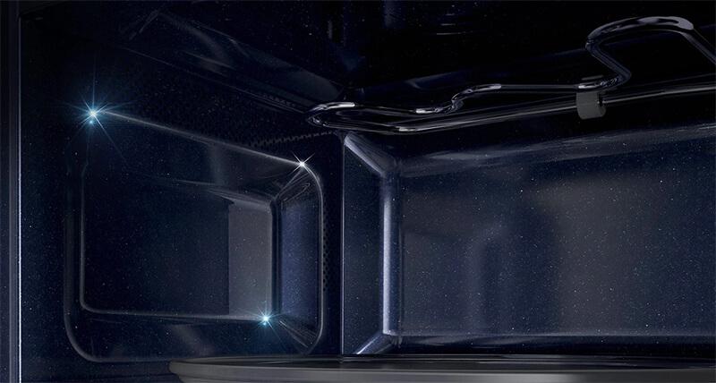 Lò vi sóng Samsung MG23K3575AS/SV-N 23 lít  - khoang lò tráng men