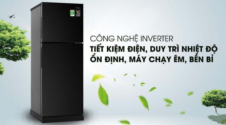 Tủ lạnh Aqua Inverter 186 lít AQR-T219FA(PB)