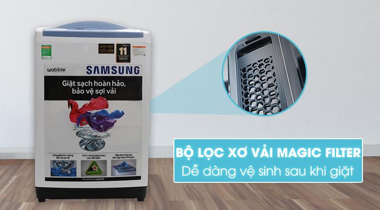 Bộ lọc xơ vải Magic Filter - Máy giặt Samsung 8.5 kg WA85M5120SW/SV