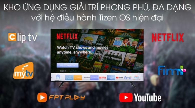 Kho ứng dụng giải trí - Tivi LED Samsung UA43TU8100