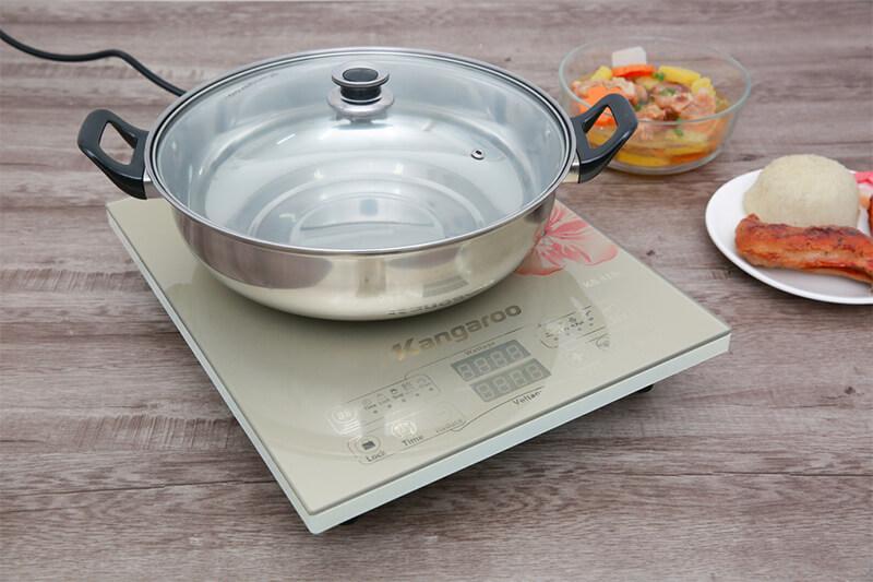Bếp từ Kangaroo KG418I - chọn nồi chảo thích hợp nhiễm từ