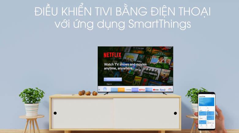 Ứng dụngSmartThings - Tivi LED Samsung UA43TU8100