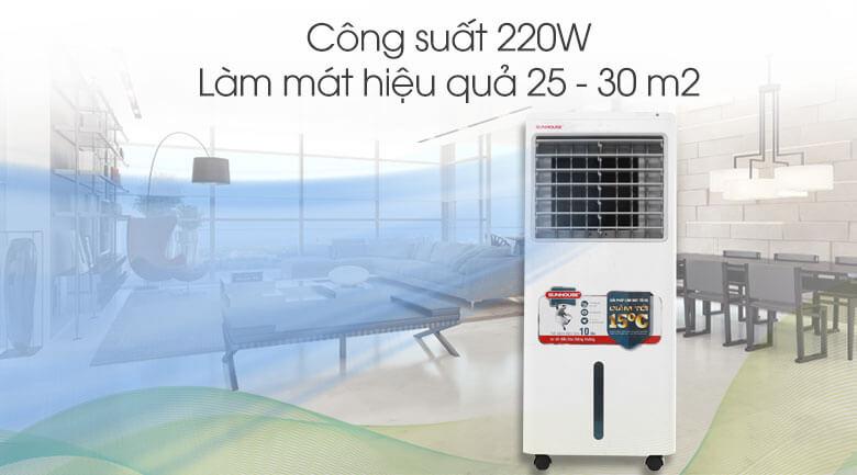 Công suất - Quạt điều hòa Sunhouse SHD7721