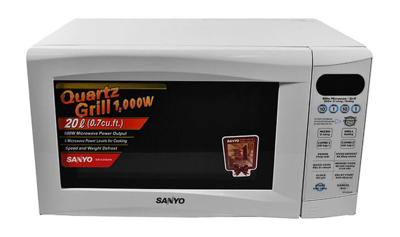 Lò vi sóng điện tử Sanyo EM-G475AS900W 23Lđa chức năng