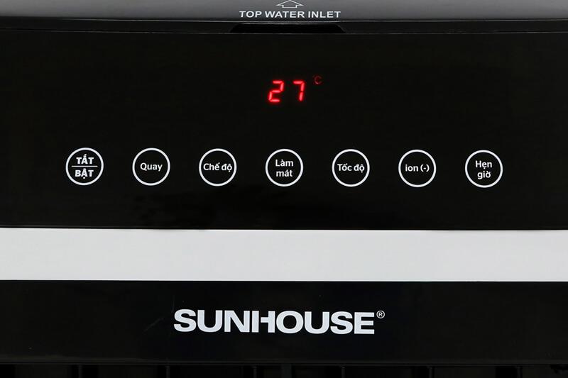 Sử dụng đơn giản, tiện ích - Máy làm mát không khí Sunhouse SHD7727 KG