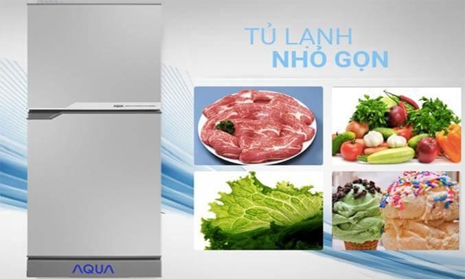 Tủ lạnh AQua AQR-125EN/SS 123 Lít