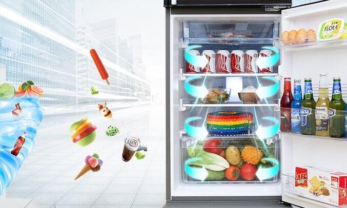 Tủ lạnh Aqua 204L AQR-I227BN (DC)