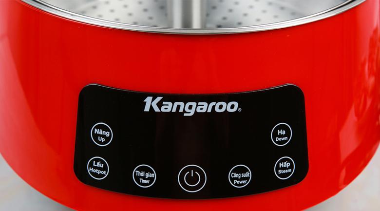 Bảng điều khiển - Nồi lẩu thang máy Kangaroo KG278 5 lít