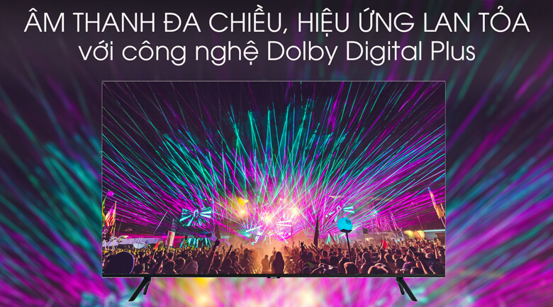 Dolby Digital Plus - Smart Tivi Samsung 4K 55 inch UA55TU8100