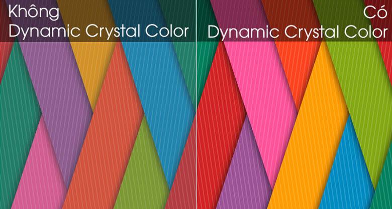 Smart Tivi Samsung 4K 65 inch UA65TU8500 - So sánh công nghệ Dynamic Crystal Color và không  Dynamic Crystal Color