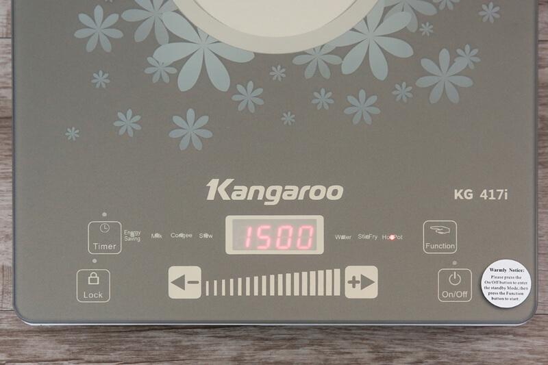 Tiện dụng, dễ dùng - Bếp điện từ Kangaroo KG417i