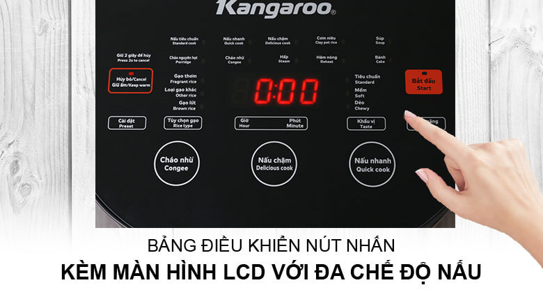 Nồi cơm điện Kangaroo KG599N