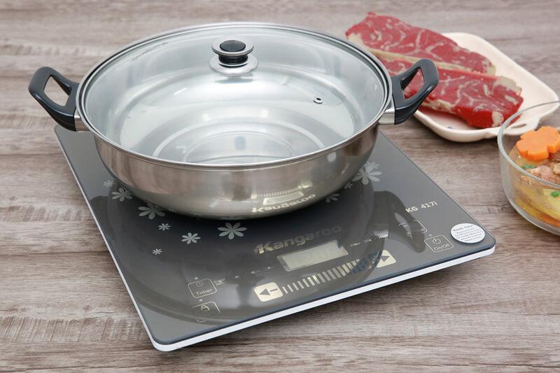 Bếp từ kén nồi - Bếp điện từ Kangaroo KG417i