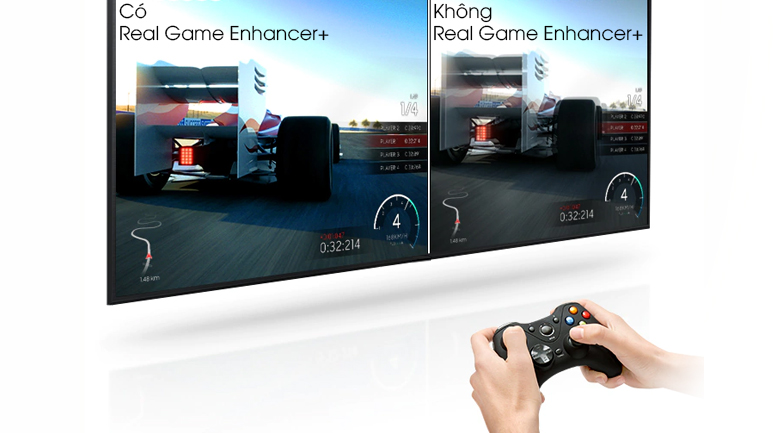 công nghệ Real Game Enhancer+