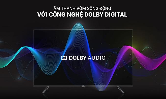 Công nghệ Dolby Casper Android Tivi 4K UHD 50 inch 50UG5000