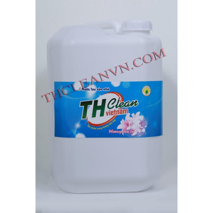 Nước lau sàn Thcleanvn can 20 lít