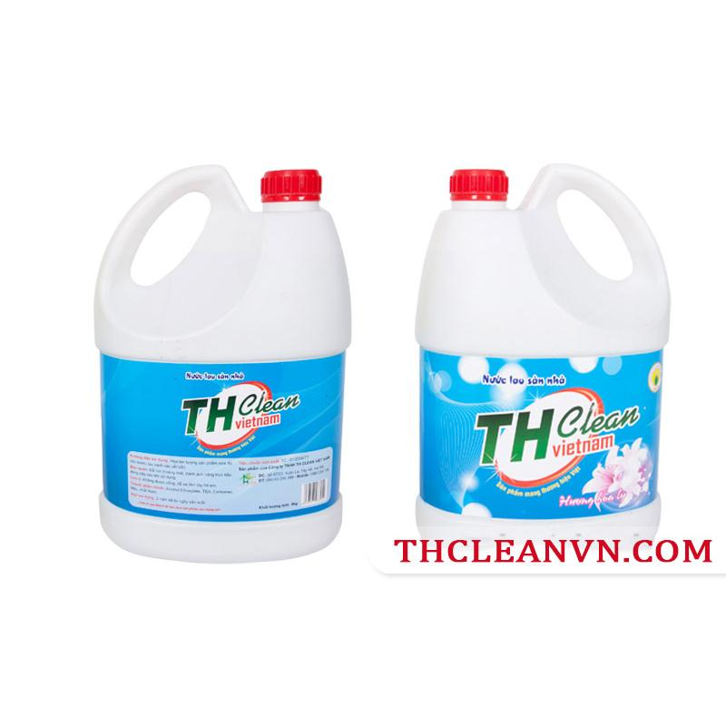 Nước lau sàn Thcleanvn can 5 lít