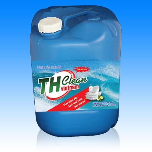 Nước rửa chén bát Thcleanvn can 25 lít