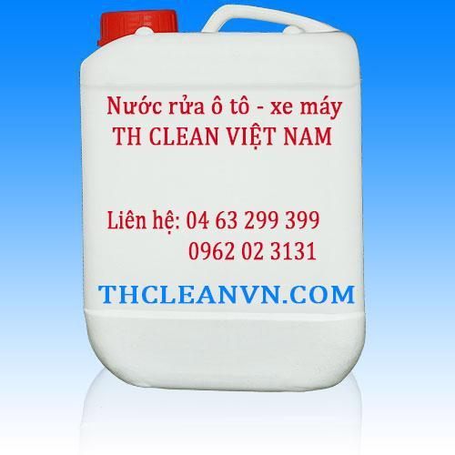 Nước rửa ô tô xe máy Thcleanvn can 30 lít