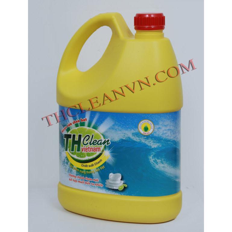 Nước rửa chén bát Thcleanvn can 5 lít