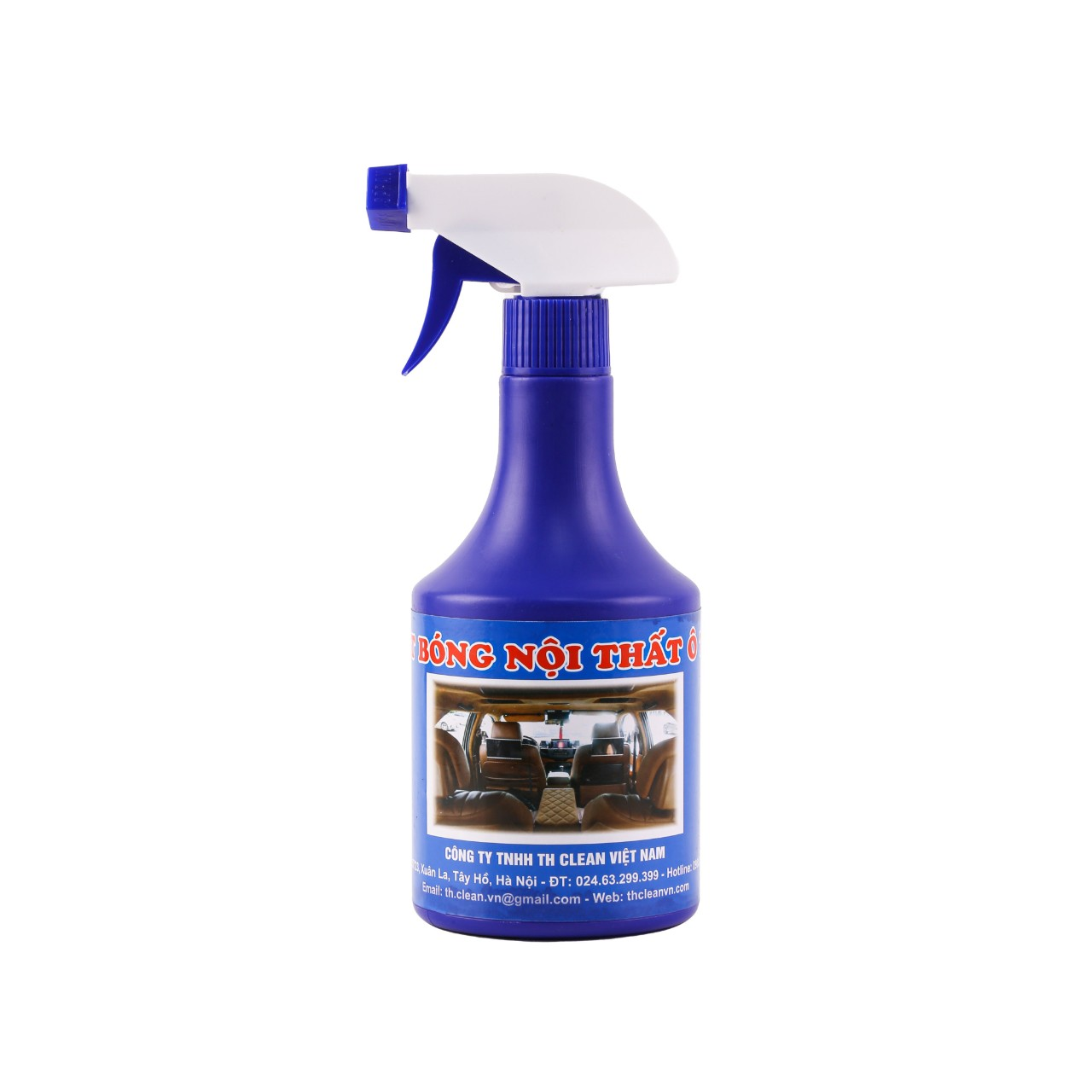 Nước xịt bóng nội thất TH CLEAN chai 500ml
