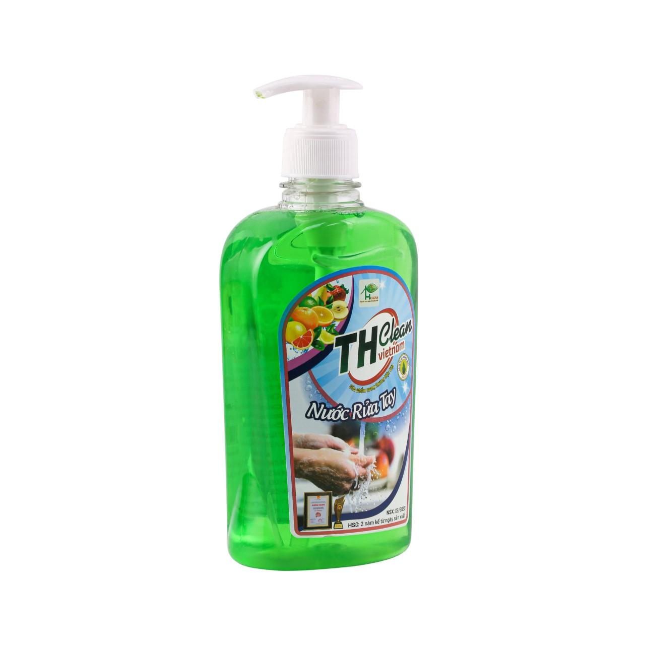 Nước rửa tay TH CLEAN chai 500ml