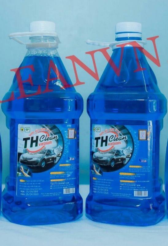 Nước Rửa kính ô tô TH CLEAN can 2,5L