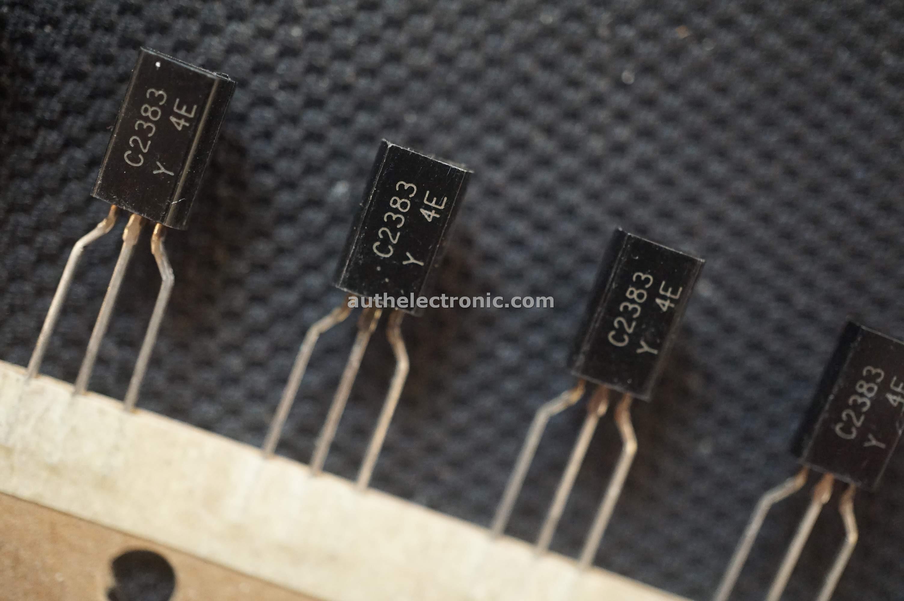 10pc NPN Transistor 2SC2383 C2383 160V 1A 900mW hfe= Y TO-92MOD Toshiba