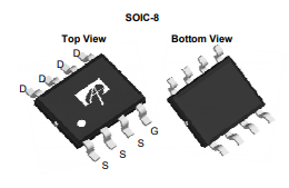 5pcs-original-n-channel-mosfet-ao4818b-4818-sop-8-new-alpha-omega-semiconductor-