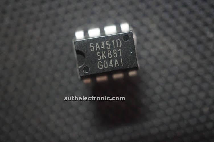 5pcs-original-integrated-power-mosfet-str5a451d-5a451d-dip-8-new-sanken