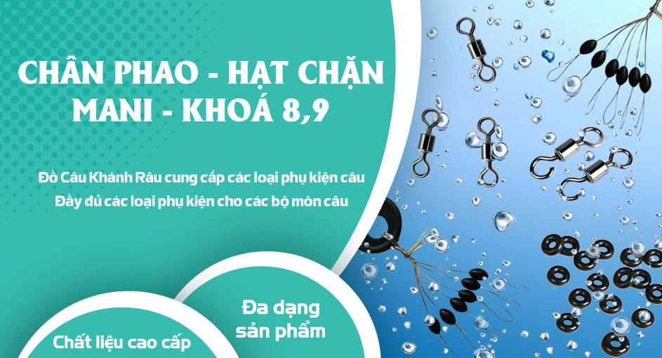Chân Phao - Hạt Chặn - Mani - Khoá 8,9