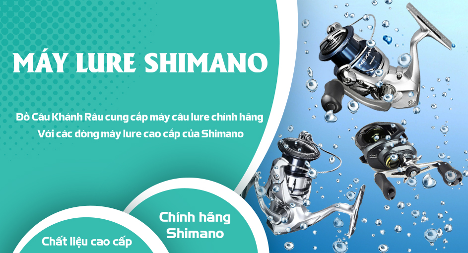 Máy Lure Shimano
