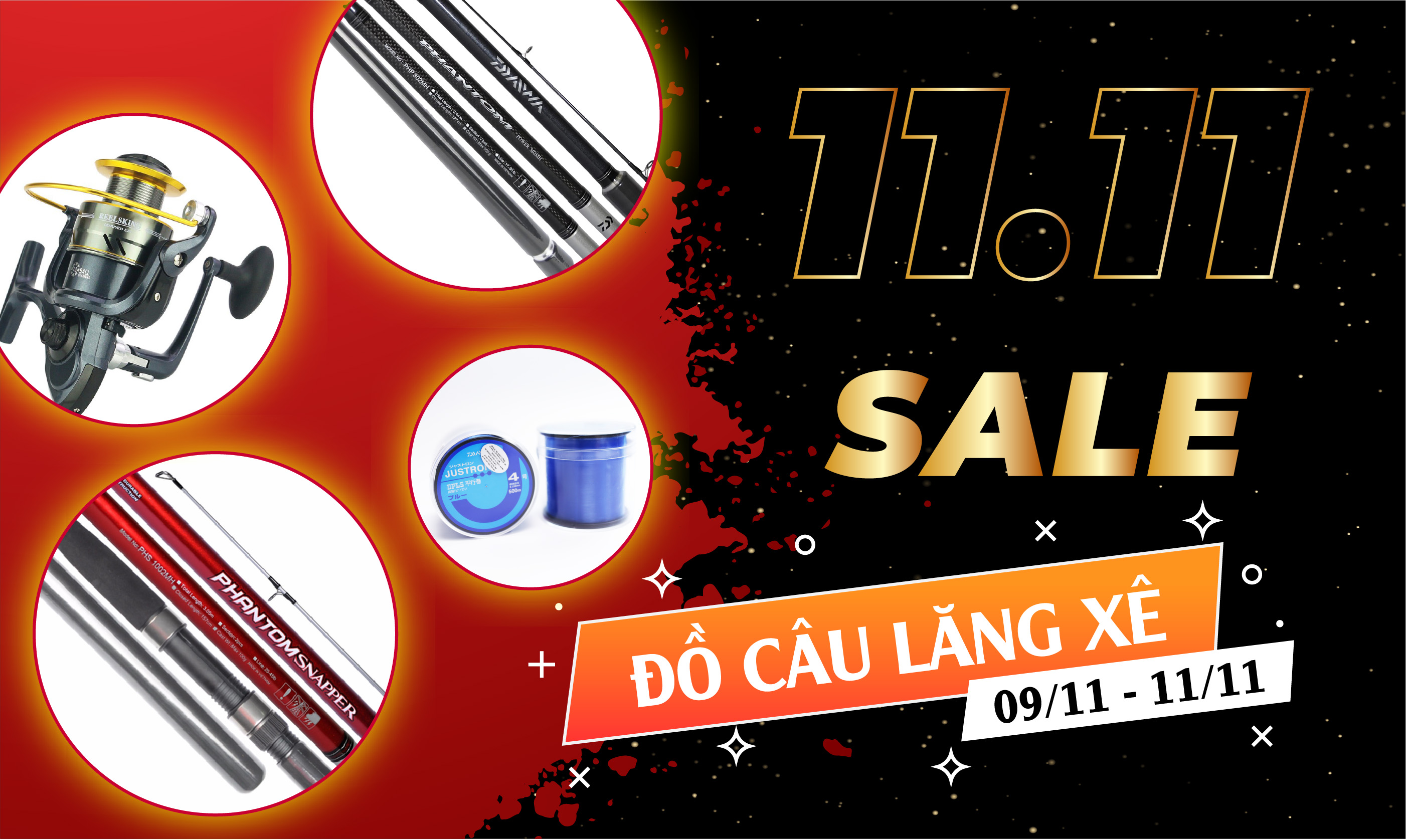 Sale 11-11 Lăng Xê