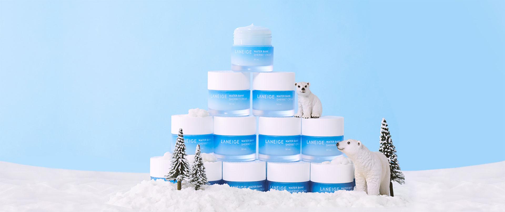 Kem dưỡng ẩm Laneige Water Bank Sherbet Cream (50ml)