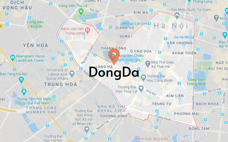 Apartments for sell in DongDa