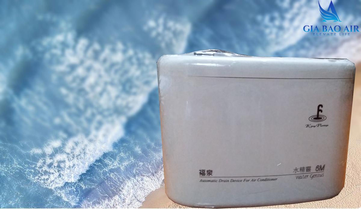 Bơm thoát nước máy lạnh KingPump 6M
