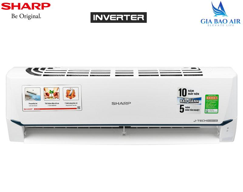Máy lạnh Sharp Inverter 2.0Hp AH-X18XEW