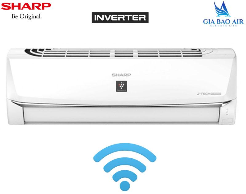 Máy lạnh Sharp Inverter Wifi 1.0Hp AH-XP10WHW
