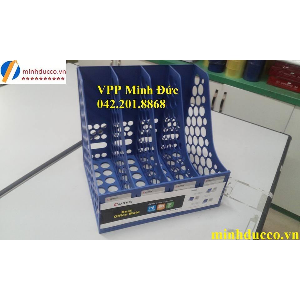 File nan 4 ngăn Comix B2114 L1
