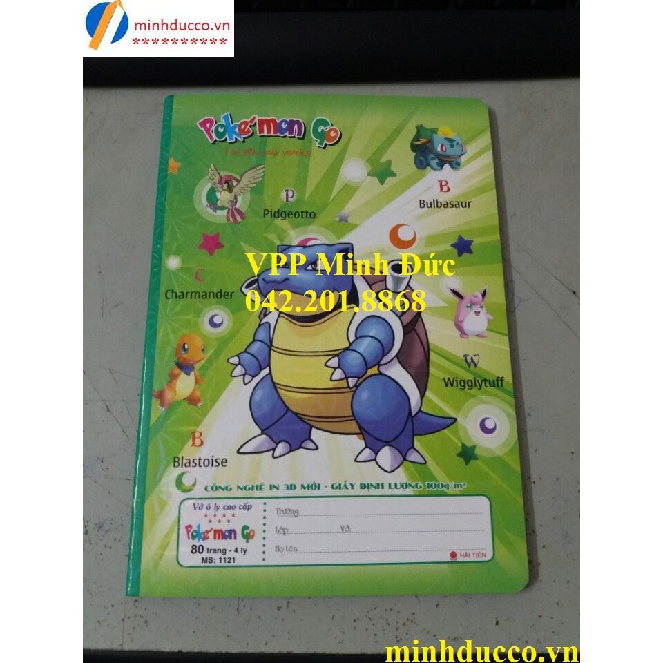 Vở ô ly Pokemon Go 80tr