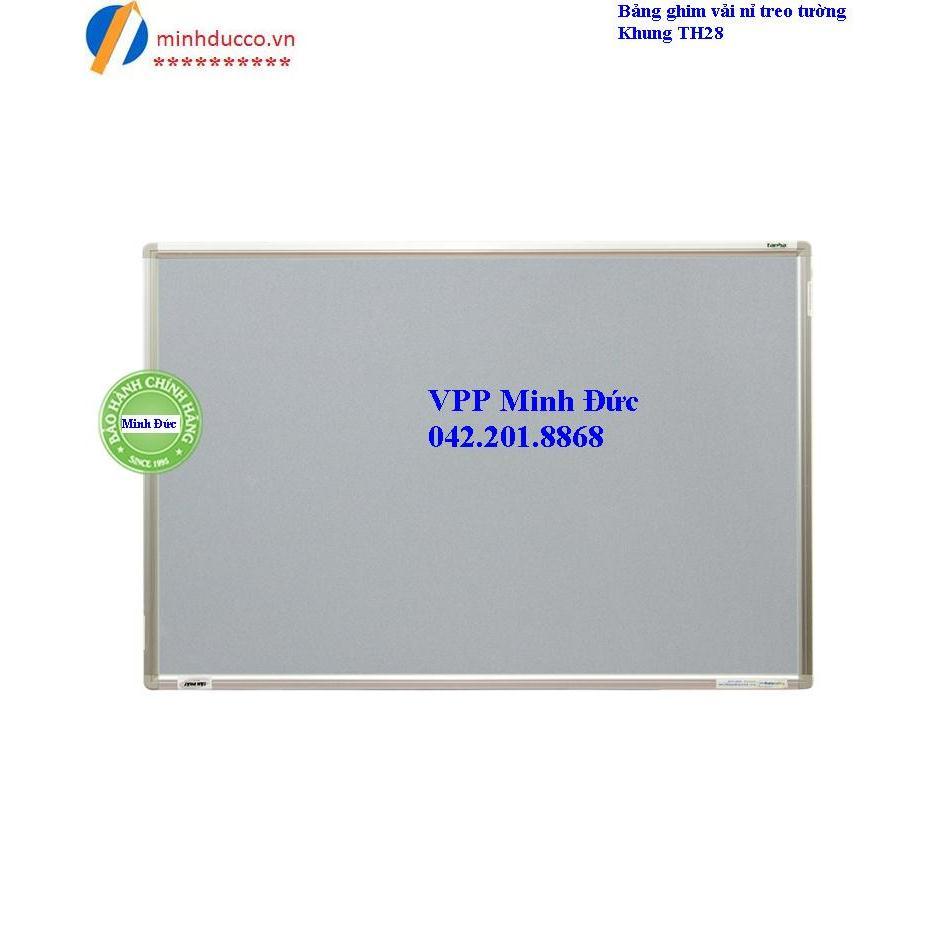 Bảng ghim vải nỉ treo tường (TH28)